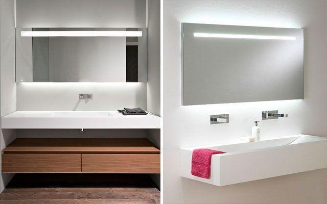 El ba o iluminaci n de espejos for Espejos para banos easy