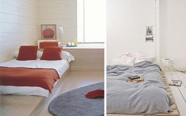 30 ideas de decoraci n de dormitorios con camas bajas