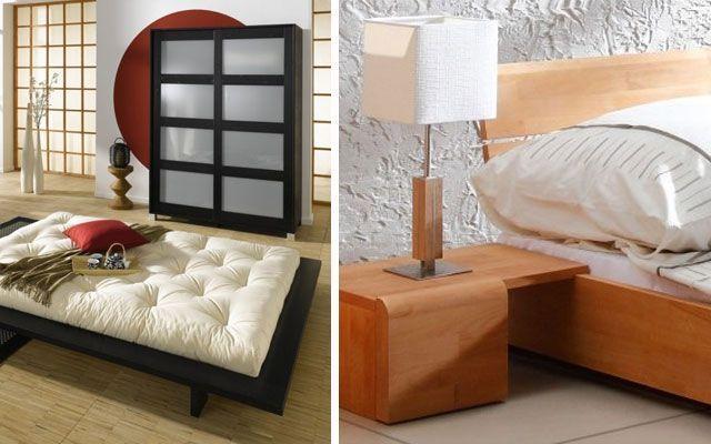 decoracion de dormitorios con camas bajas