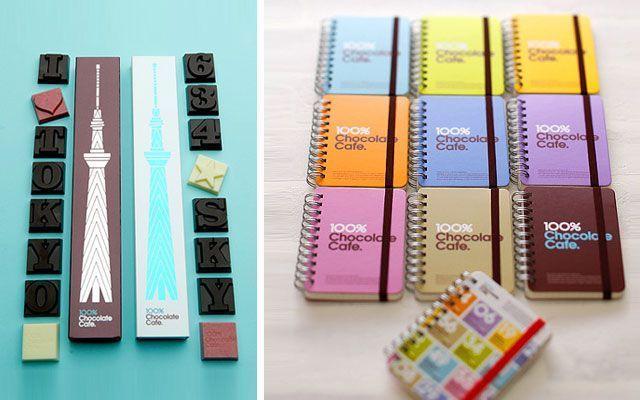 chocolate and café
