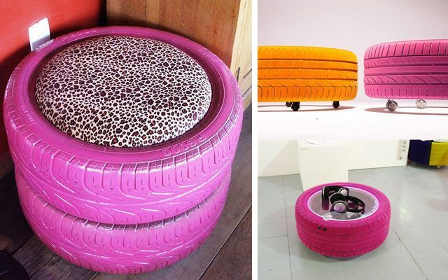 Ideas diy para decorar con neum ticos - Decoracion con neumaticos ...