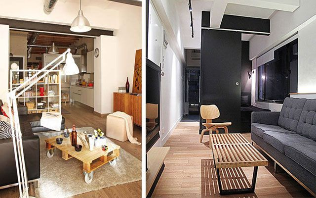 7 trucos imprescindibles para decorar salones peque os for Departamentos alargados