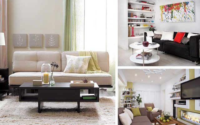 7 trucos imprescindibles para decorar salones peque os for Ideas para salones modernos