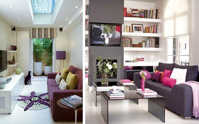 7 trucos imprescindibles para decorar salones peque os - Decoracion para salones pequenos ...