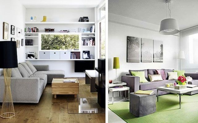 7 trucos imprescindibles para decorar salones peque os for Decoracion de pisos muy pequenos