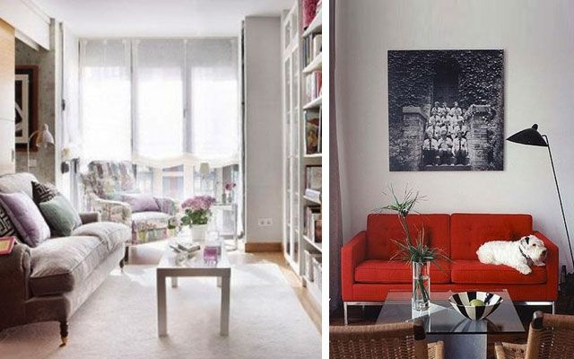 7 trucos imprescindibles para decorar salones peque os - Decorar salones alargados ...