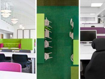 oficinas de color