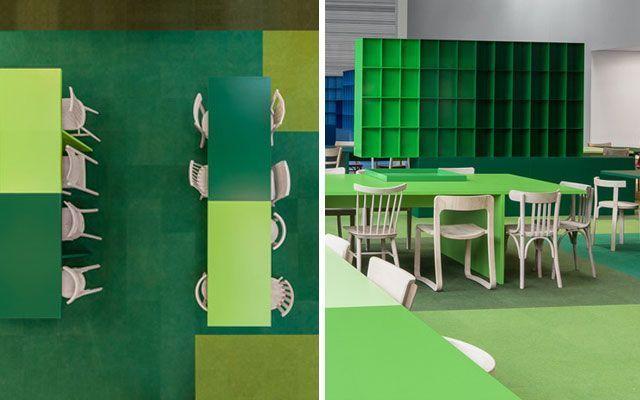 Ideas para decorar oficinas con color for Colores para oficinas modernas
