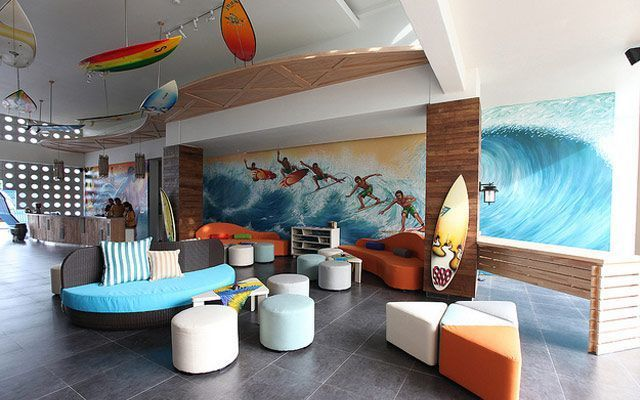 ideas para decorar con tablas de surf ForDecoracion De Surf