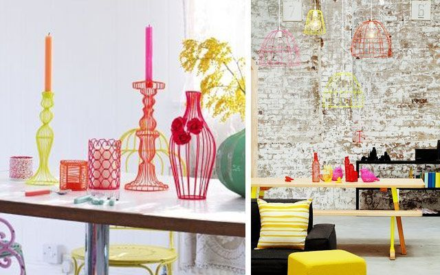 Ideas para decorar con alambre