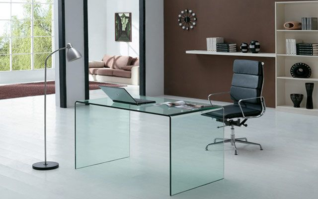 Ideas para decorar el estudio con transparencias