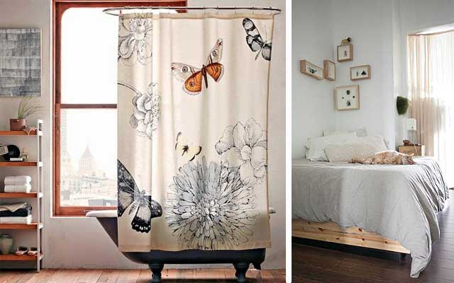 decorar con insectos