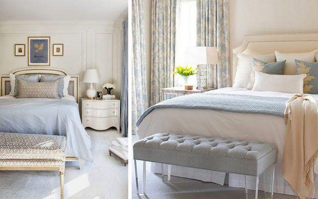Un banco a pie de cama para la decoraci n de dormitorios for Como se llaman las camas que se doblan