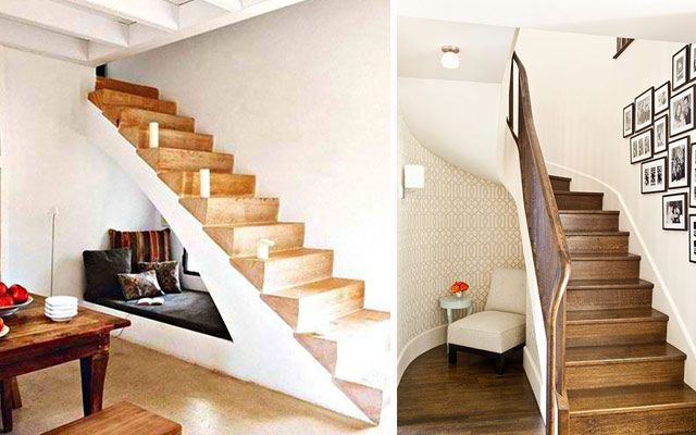 Yo estilo mira estas originales ideas para decorar for Escalera madera adorno