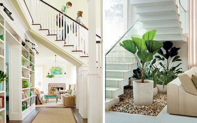 Decoracion para escaleras interiores affordable ideas - Decorar escaleras interiores ...