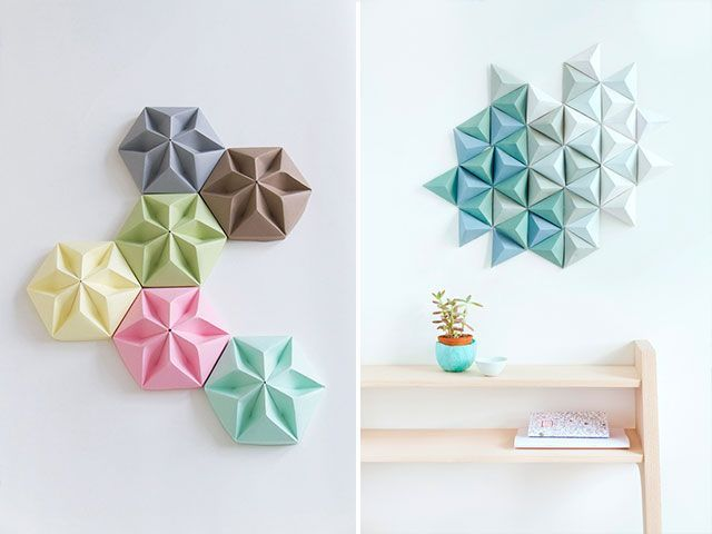 Decofilia blog 30 ideas para decorar interiores con origami - Ideas para decorar interiores ...
