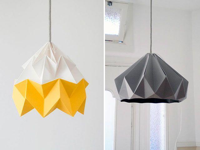 Decorar con origami