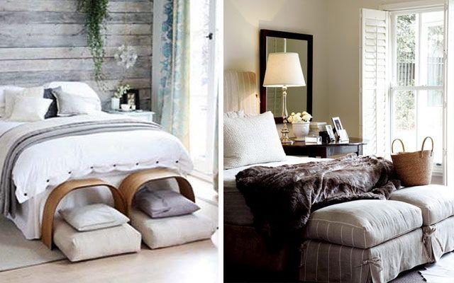 Pie de cama para dos for Pie de cama xxl