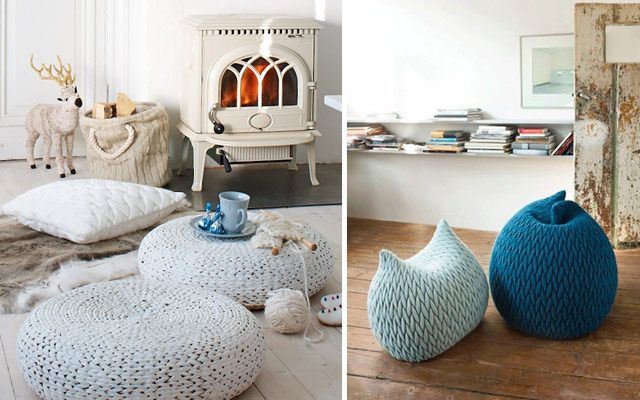 Ideas para decorar con crochet y punto