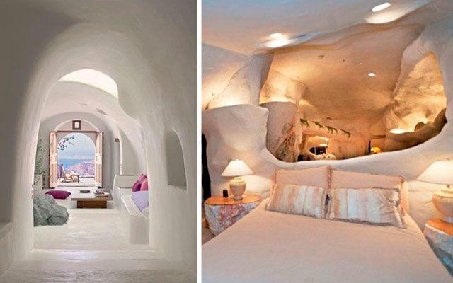 decoración de interiores en cuevas