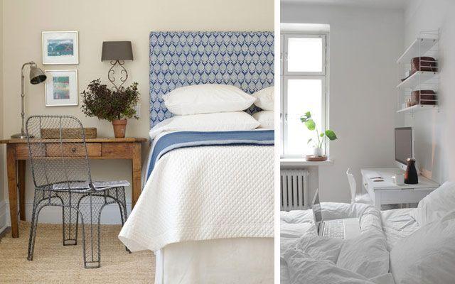 Decofilia blog un escritorio junto a la cama para la for Idea de la decoracion del dormitorio adulto