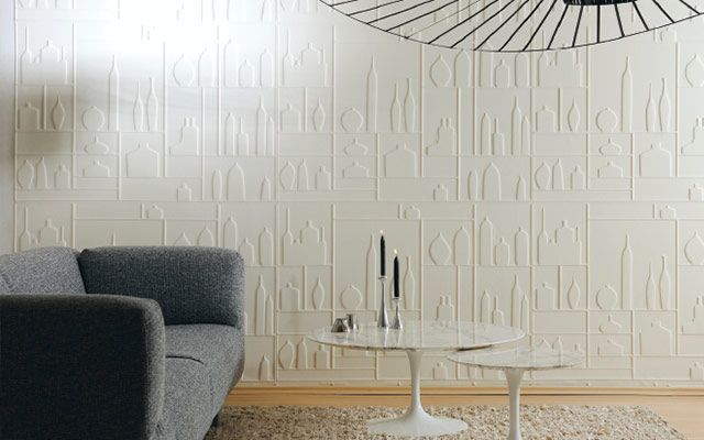 4 ideas para decorar paredes en 3d y dar volumen a tus muros - Paredes decorativas interiores ...