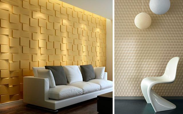 4 ideas para decorar paredes en 3d y dar volumen a tus muros