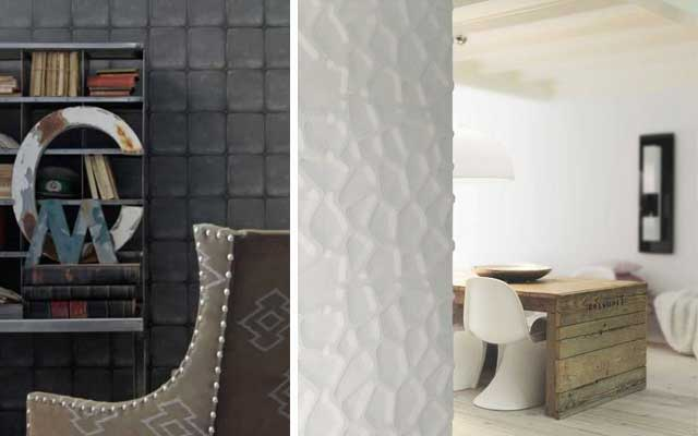 Ideas para decorar paredes en 3D