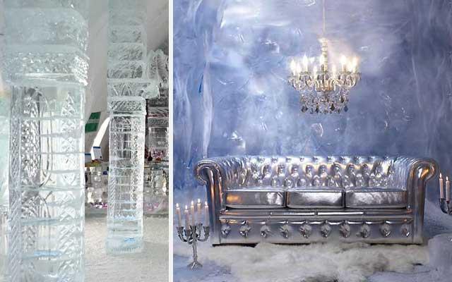 Interiores originales - Durmiendo bajo el hielo