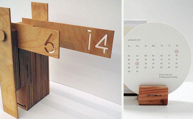 45 calendarios originales para los 365 del a o - Relojes originales de pared ...