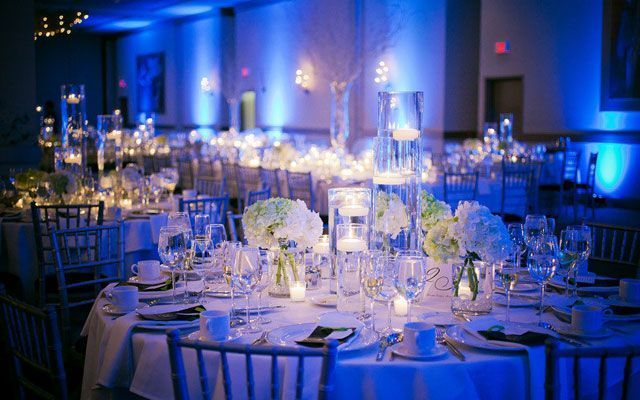 Decoración de bodas de invierno