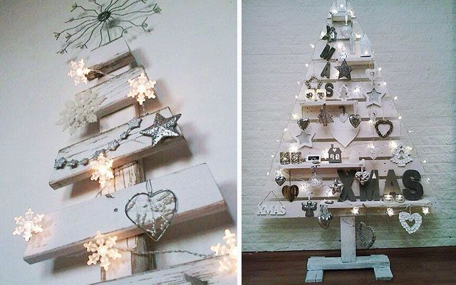 decoracin navidea diy ideas para decorar la navidad con pallets