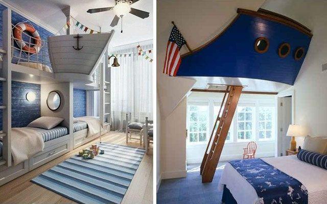 Dormitorios infantiles de cuento para los reyes de la casa - Dormitorios infantiles para dos ...