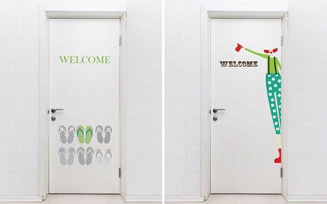C mo decorar puertas con vinilos decofilia for Decoracion para puertas de preescolar