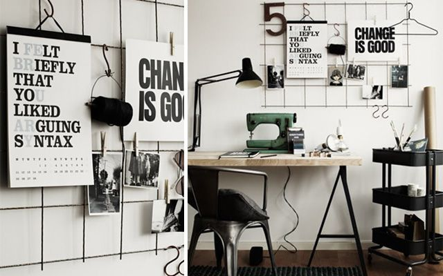 Ideas Decorar Pared Escritorio