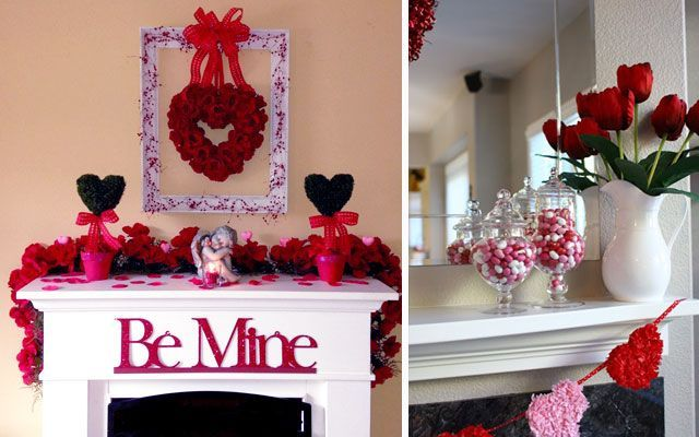 ideas para decorar el rinc n chimenea en san valent n On decoracion san valentin pinterest
