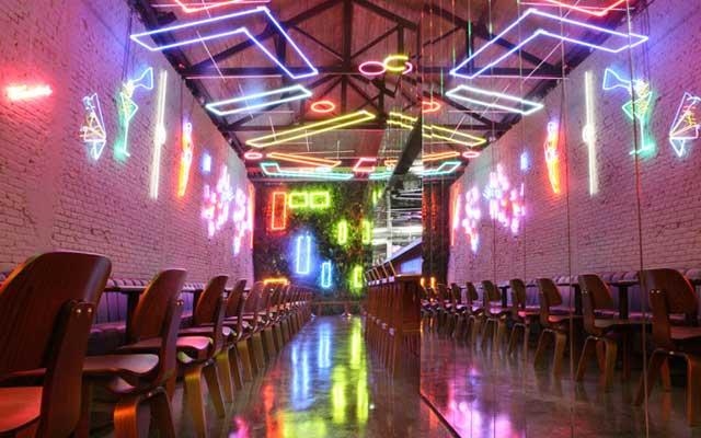 Decoración de locales con neon