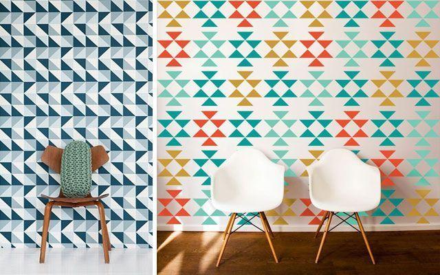 Figuras geometricas para decorar diseos geometricos para for Figuras para decorar paredes