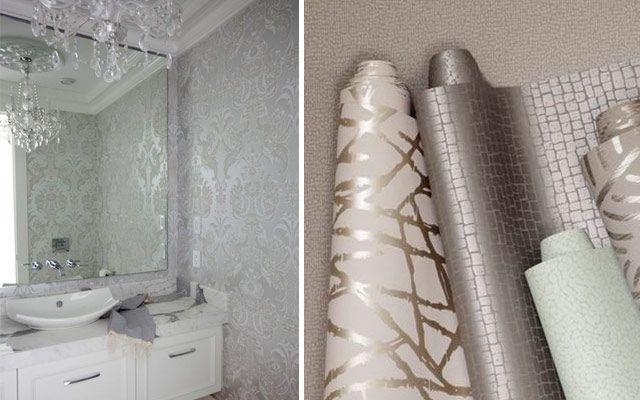 El color metalizado en la decoración de interiores