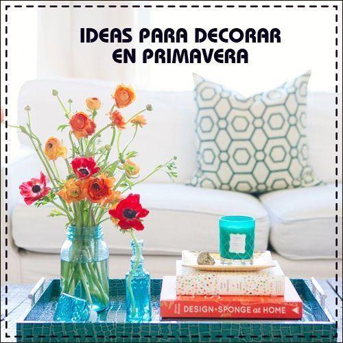 Guía gratis: Ideas para decorar en primavera