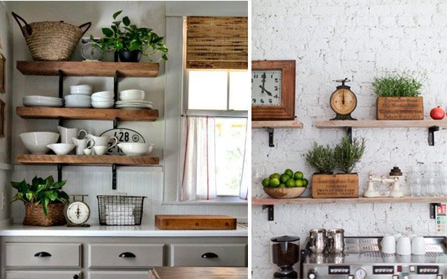 Ideas originales para decorar la cocina con plantas - Cocinas ideas para decorar ...