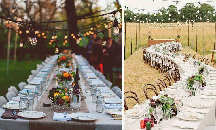 Ideas Para Decorar Boda Civil Sencilla Al Aire Libre
