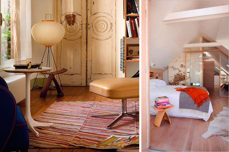 El taburete Butterfly en el diseño de interiores