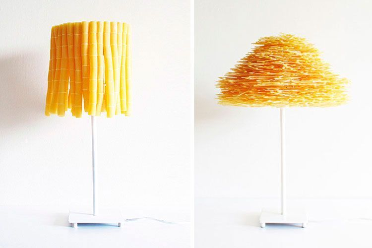 ideas para decorar con pasta