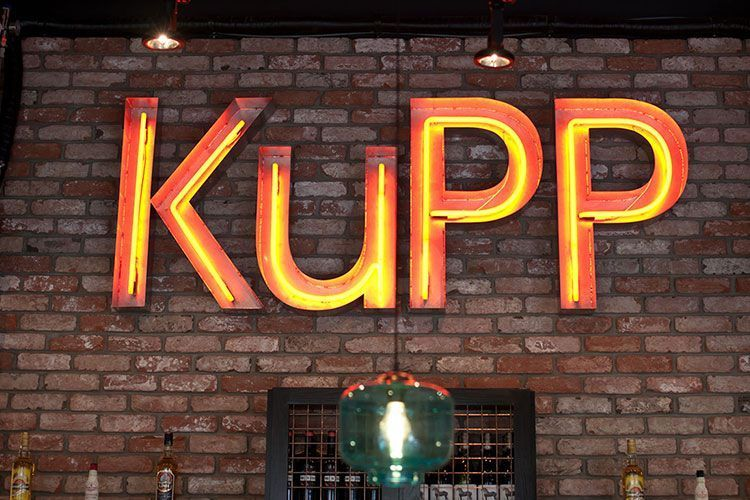 Kupp Café: Local de diseño