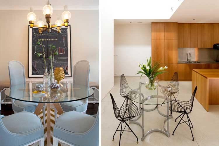 Mesas de comedor redondas for Mesas de comedor redondas extensibles de madera