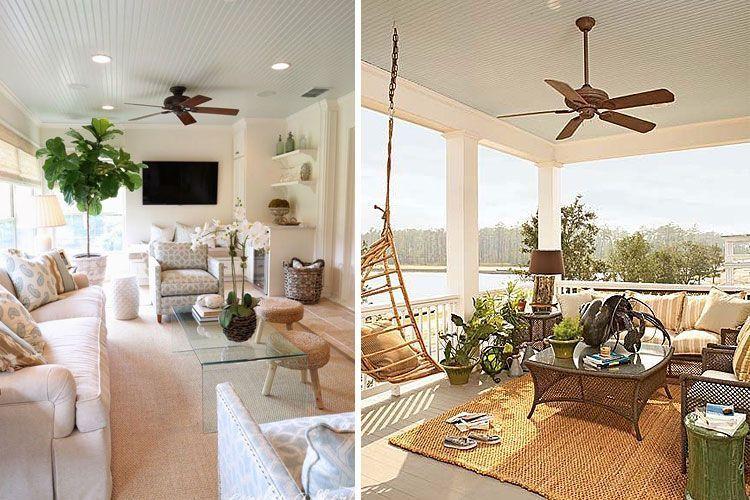 Ventiladores de techo modernos para mitigar el calor - Aspas para ventiladores ...