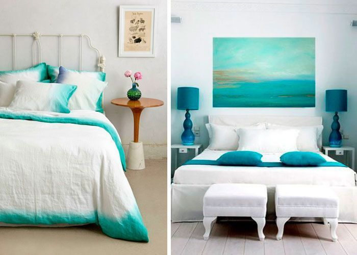 35 dormitorios con olor a verano for Decoracion pared dormitorio