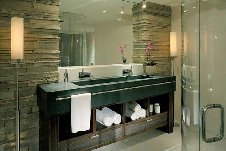 Toalleros para el lavabo