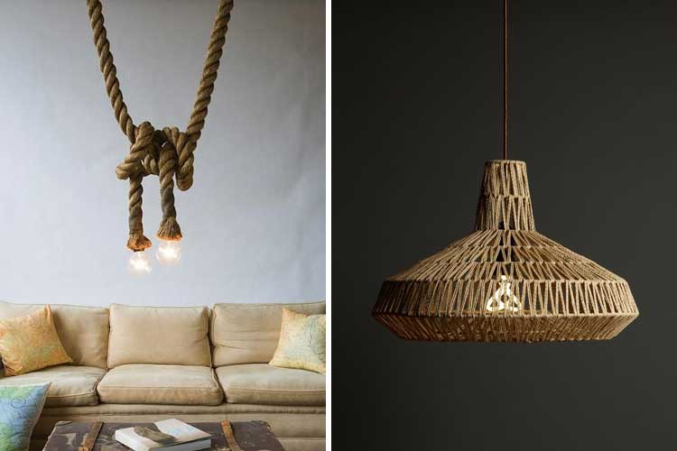 10 ideas para decorar con cuerdas